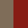 Madeira Rústica e Vermelho (1)