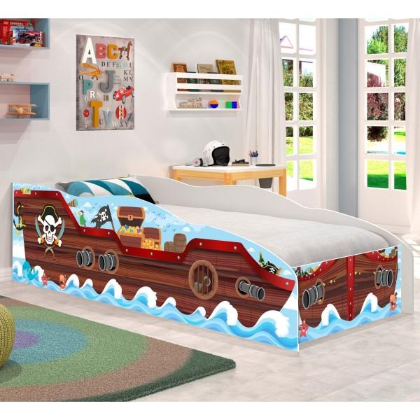 Cama Infantil Kids Speciale Barco Pirata