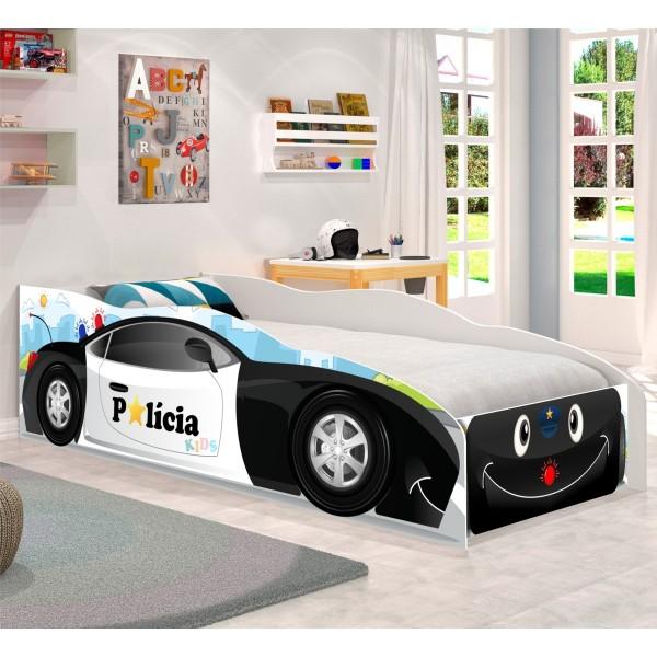 Cama Infantil Kids Speciale Carro Polícia Baby