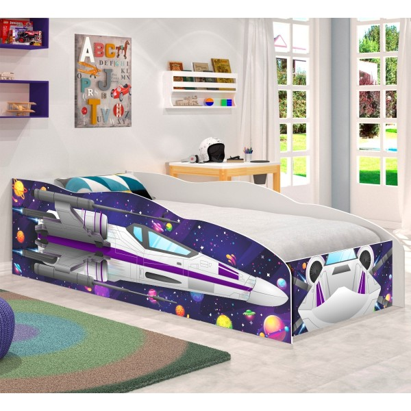 Cama Infantil Kids Speciale Nave Espacial Star Force