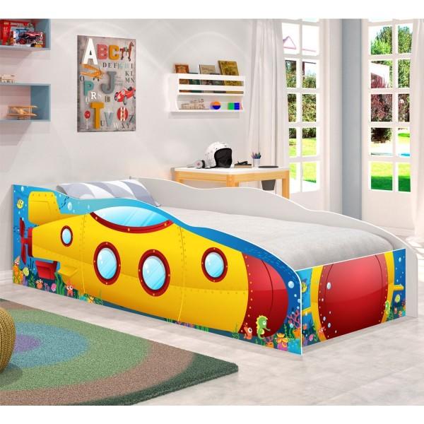 Cama Infantil Kids Speciale Submarino Amarelo