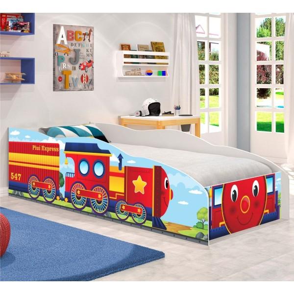 Cama Infantil Kids Speciale Carro Trenzinho