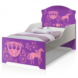 Cama Infantil Uly Carruagem de Princesa