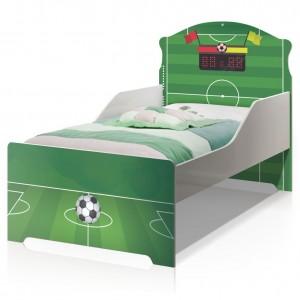 Cama Infantil Uly Campo Futebol com Colchão