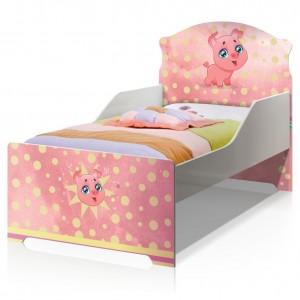 Cama Infantil Uly Porquinho Pig com Colchão