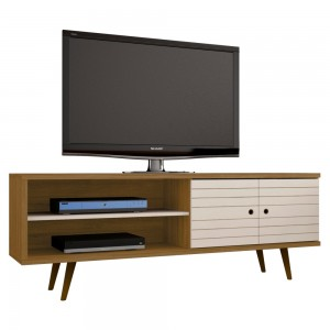 Rack para TV Barreiro Cinamomo Off White