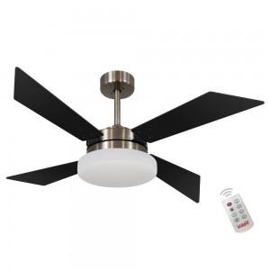 Ventilador Volare Tech Preto 127V e Controle Remoto