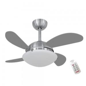 Ventilador Volare Fly Mini Titanio 127V e Controle Remoto