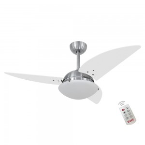 Ventilador Volare Class Branco 127V e Controle Remoto