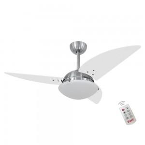 Ventilador Volare Class Branco 220V e Controle Remoto