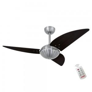 Ventilador Volare Off Class Tabaco 127V e Controle Remoto