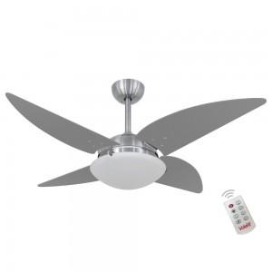 Ventilador Volare Quad Titanio 127V e Controle Remoto