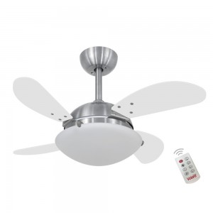 Ventilador Volare Fly Mini Branco 220V e Controle Remoto