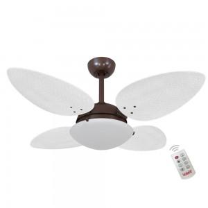Ventilador Volare P Palmae Branco 127V e Controle Remoto