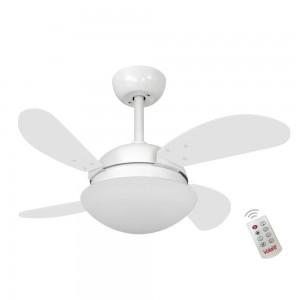 Ventilador Volare Fly Mini Branco 127V e Controle Remoto