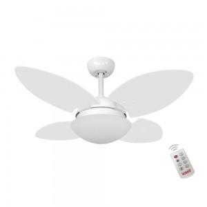 Ventilador Volare Mini Petalo Branco 220V e Controle Remoto