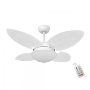 Ventilador Volare Mini P Palmae Branco 127V Controle Remoto