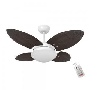 Ventilador Volare Mini P Palmae Tabaco 127V Controle Remoto
