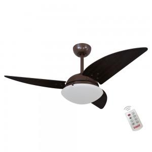 Ventilador Volare Class Tabaco 127V e Controle Remoto