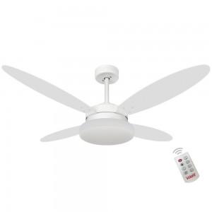 Ventilador Volare Lanai Branco Tabaco 127V e Controle Remoto