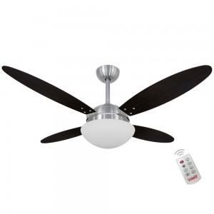 Ventilador Volare Lanai Branco Tabaco 220V e Controle Remoto