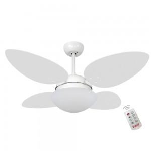 Ventilador Volare Petalo Quad Branco 220V e Controle Remoto