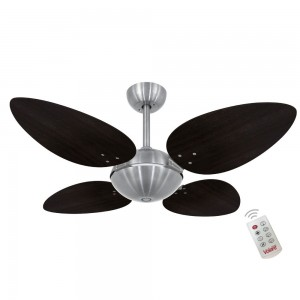 Ventilador Volare OffPetalo Quad Tabaco 127V Controle Remoto
