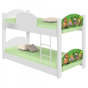 Beliche Infantil Safari com 2 Colchões
