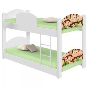 Beliche Infantil Safari Macaquinhos