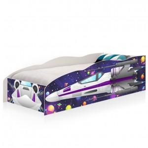 Cama Infantil Premium Kids Nave Espacial Force