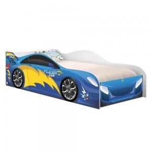 Cama Infantil Carro Velocista Azul