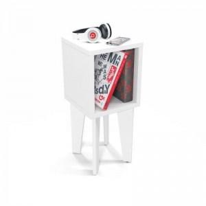 Mesa de Canto Tubi RV - Branca
