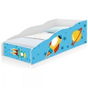Cama Infantil Play Viagem no Espaço