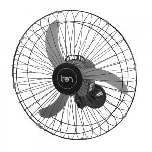 Ventilador de Parede Oscilante 60 cm 110V Preto