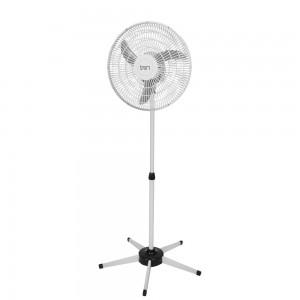 Ventilador Pedestal Oscilante 50 cm PP Bivolt Branco