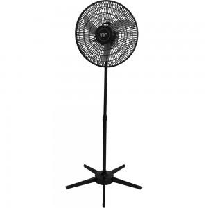 Ventilador Pedestal Oscilante 50 cm PP Bivolt Preto