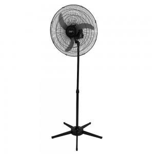 Ventilador Pedestal Oscilante 60 cm Bivolt Preto