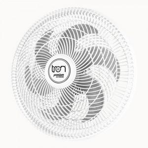 Ventilador Parede Lorena Branco Oscilante 220V Pás Prata