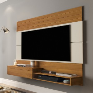 Painel para TV Hadar Nature Off White