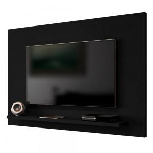 Painel para TV Mesen Invertido Preto Fosco