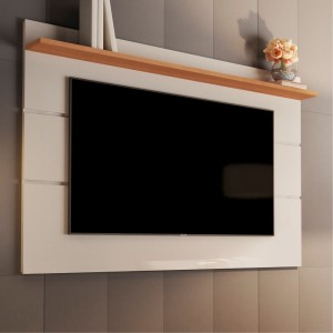Painel para TV Dubhe 1.6 Off White Nature
