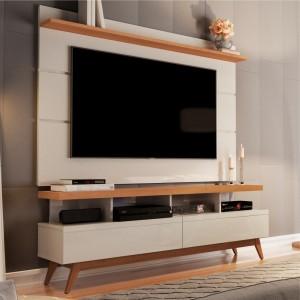Home para TV 1.6 Polaris Off White Nature