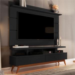 Home para TV 1.6 Polaris Preto