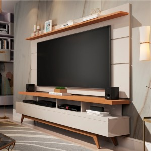 Home para TV 1.8 Polaris Off White Nature