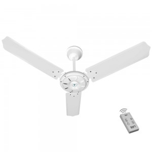 Ventilador Ipanema Branco 220V 3 Pás e Controle