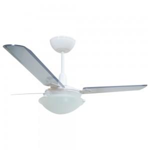 Ventilador Unions Branco 110V 3 Pás Transparentes