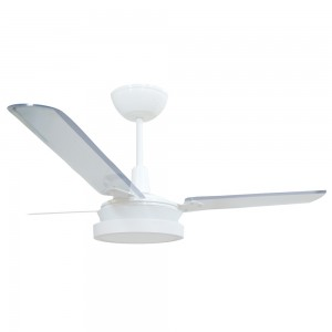 Ventilador Led Breeze Branco 110V 3 Pás Transparentes
