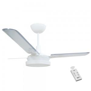 Ventilador Led Breeze Branco 110V 3 Pás Transparentes e Controle Remoto