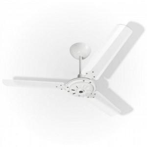 Ventilador Eco San Branco 110V 3 Pás Transparentes