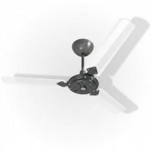 Ventilador Eco San Grafite 110V 3 Pás Transparentes